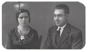 Felipe Priego Jiménez y su esposa Guadalupe Valenzuela García.