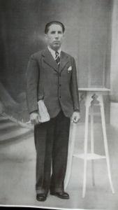 José Bonilla Horcas, uno de los cinco baenenses deportados de Angulema a Mauthausen, donde murió el 16 de noviembre de 1941.