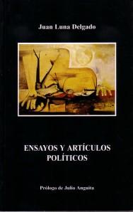 """Portada del libro """"Artículos y ensayos políticos"""""""