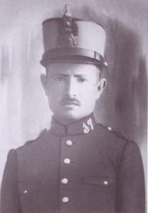 Antonio Rabasco Ortega, de la la aldea de Las Huertas de la Granja, fusilado el 4 de septiembre de 1936.