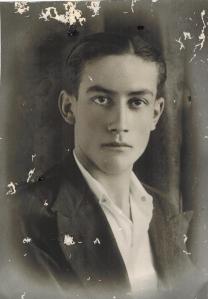 Antonio Bergillos Gálvez, de 19 años, fusilado el 11 de noviembre de 1936.