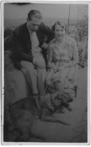 Manuel Tarazona Anaya, junto a su mujer, Josefina Ortega San Emeterio.