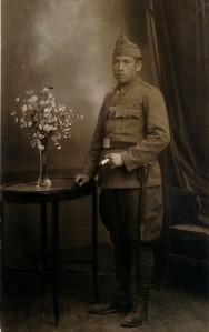60.El campesino socialista José Gómez Lucena, teniente del Ejército republicano, preso en Montilla en la posguerra.