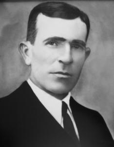 El taxista Galo Piedra, fusilado en Alhama de Granada en 1937.