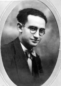 El juez Salvador Villanueva Porras, de 28 años. Murió asesinado en Lucena el 18 de agosto de 1936.