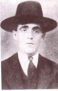 El campesino José Ramírez Melendo, de 54 años, asesinado en el Paseo el 28 de julio de 1936.