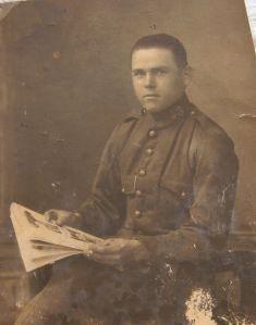 El capataz Rafael Moraga Albanil, de 32 años, fusilado el 28 de julio de 1936 en el Paseo.