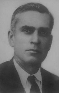 José Lara Díaz, empleado de banca, asesinado el día 28 de julio de 1936 en el Paseo.
