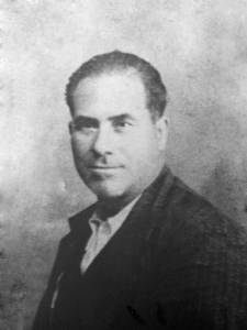 El chófer Antonio Pintor Marín, de 43 años, presidente de la agrupación local del PSOE, fusilado el 16 de agosto de 1936 en Las Salinas (Aguilar de la Frontera).