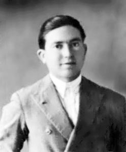 El vaquero Gonzalo Ansio Rídez, de 19 años, asesinado el 25 de julio de 1936.