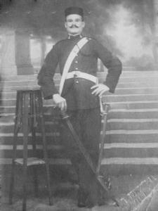 El agricultor Luis Raya Luque, de 41 años, asesinado el 14 de agosto de 1936 en la cuesta de los Visos.