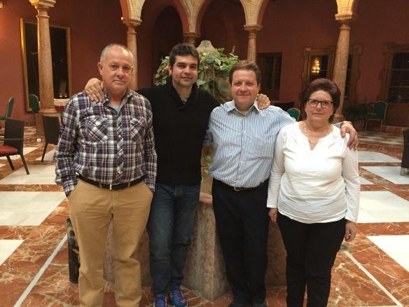 Familia Burguillos Lucena